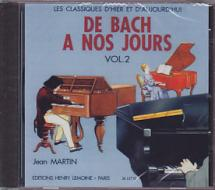 Herve C. / Pouillard J. - De Bach à Nos Jours Vol.2 - Piano - Cd Seul