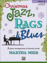Mier Martha - Christmas Jazz, Rags And Blues Book 4 - Piano Solo