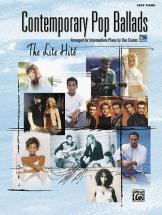 Coates Dan - Contemporary Pop Ballads Easy Piano - Piano Solo