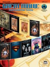 Great Movie Instrumental Solos + Cd - French Horn Solo