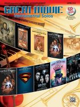 Great Movie Instrumental Solos + Cd - Cello And Piano