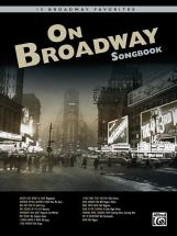 On Broadway Songbook + Cd - Pvg
