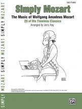 Mozart Wolfgang Amadeus - Simply Mozart Easy Piano - Piano Solo