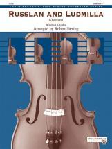 Glinka Mikhail Ivanovitch - Russlan And Ludmilla Overture - String Orchestra