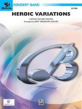 Beethoven Ludwig Van - Heroic Variations - Symphonic Wind Band