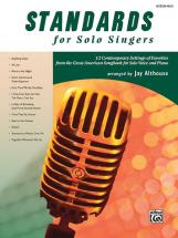 Althouse Jay - Standards For Solo Singers + Cd - Voice And Piano