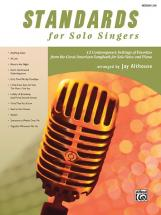 Althouse Jay - Standards For Solo Singers + Cd - Medium And Low Voice