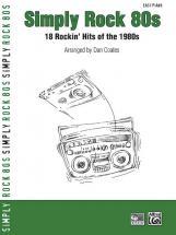 Coates Dan - Simply Rock 80s Easy Piano - Piano Solo
