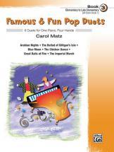Matz Carol - Famous And Fun Pop Duets Book 3 - Piano Duet