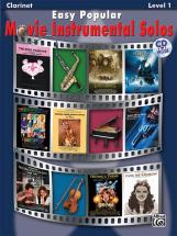 Easy Popular Movie Solos + Cd - Clarinet Solo