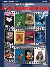 Easy Popular Movie Solos + Cd - Saxophone And Piano