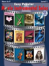 Easy Popular Movie Solos + Cd - French Horn Solo