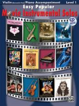 Easy Popular Movie Solos + Cd - Violin Solo