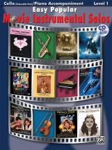 Easy Popular Movie Solos + Cd - Cello Solo