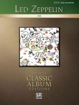 Led Zeppelin - Led Zeppelin Iii - Bass Guitar Tab