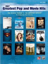 Coates Dan - 2007 Greatest Pop And Movie Hits - Piano Solo