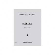 Canat De Chizy Edith - Hallel - Trio A Cordes