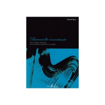 Wery Benoît - Barcarolle Concertante - Harpe Celtique Et Orchestre (quatuor) A Cordes