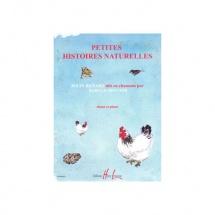 Aboulker Isabelle - Petites Histoires Naturelles - Chant Et Piano