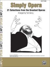 Gerou Tom - Simply Opera - Piano Solo