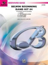 Bullock Jack - Belwin Beginning Band Kit #4 - Symphonic Wind Band