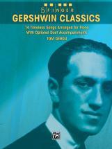 Gershwin George - 5 Finger Gershwin Classics - Piano Solo