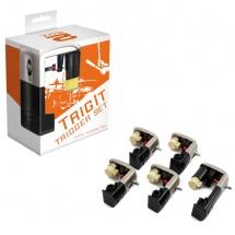 2box 10400 - Set De 5 Capteur Trigit Pour Grosse Caisse Tom Et Caisse Claire