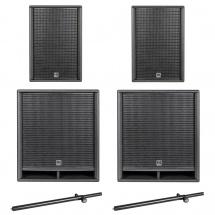 Hk Audio Pack Premium Pro 112 Xd2 + 118 Sub D2 + Mats