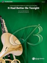 Mancini Henry - It Had Better Be Tonight - Symphonic Wind Band