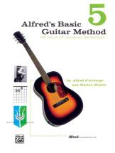 Alfred's Basic Guitar Method Book 5 - Guitar