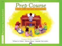 Palmer Manus And Lethco - Alfred Prep Course Lesson Book Level C - Piano