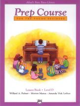 Palmer Manus And Lethco - Alfred Prep Course Lesson Book Level D - Piano