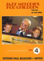 Dieval Jack - Jazz Melodies For Children N°4 - Piano