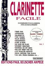 Clarinette Facile Vol 1 - Clarinette