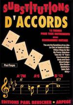 Farges Paul - Substitutions D'accords - Guitare