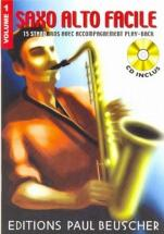 Saxophone Facile Vol.1 + Cd