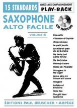 Saxophone Facile Vol.4 + Cd