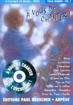 A Vous De Chanter - Voix Homme Vol.2 + Cd