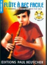 Flute A Bec Facile Vol.2 + Cd