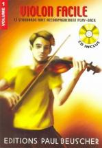 Violon Facile Vol.1 + Cd