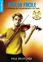 Violon Facile Vol.2 + Cd - Violon