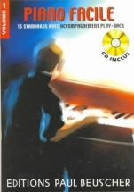 Piano Facile Vol.1 + Cd