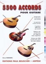 Rodgers Steve - Accords Pour Guitare (5500)