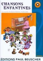 Chansons Enfantines - 16 Titres + Cd - Pvg