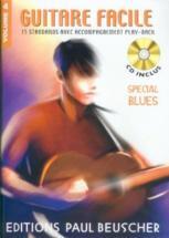 Guitare Facile Vol.4 Spécial Blues + Cd