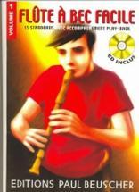Flûte à Bec Facile Vol.1 - + Cd