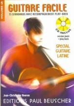 Guitare Facile Vol.5 Spécial Latin + Cd