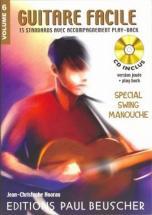 Guitare Facile Vol.6 Spécial Swing Manouche + Cd