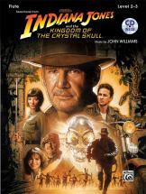 Williams John - Indiana Jones - Crystal Skull + Cd - Flute And Piano