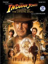 Williams John - Indiana Jones - Crystal Skull + Cd - Clarinet And Piano